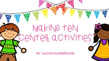 Making Ten Center Activities