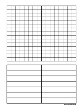 WORD SEARCH TEMPLATE 3 templates English French Spanish la
