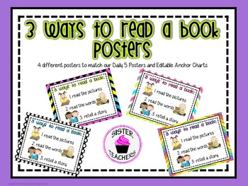 3 Ways to Read a Book Posters