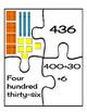 3 digit math activity on base 10 blocks, & standard, word,