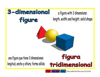3-dimensional figure/figura tridimensional geom 1-way blue/rojo