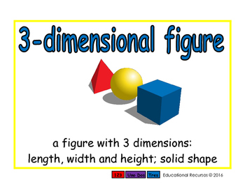 3-dimensional figure/figura tridimensional geom 2-way blue/verde