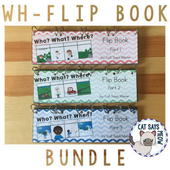 3 for the Price of 2! Wh- Flip Book: Bundle!