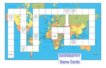 3 in 1 CRCT 6th grade Social Studies Review Board Game Set