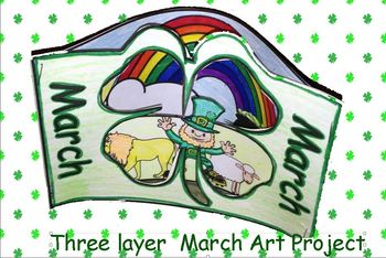 3 layer scenic view March Art project