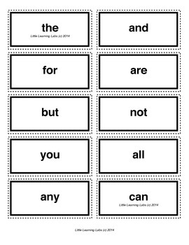 3-letter vocabulary spelling sight words cards for prek pr