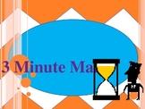 3 minute math