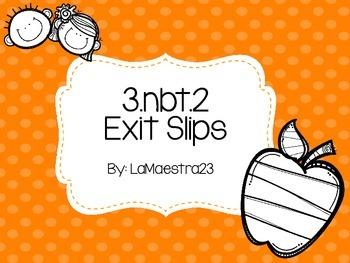 3.nbt.2 exit slips