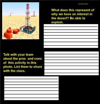 3 to 5th Grade Review of the Desert