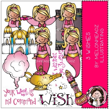 Melonheadz: 3 Wishes clip art - COMBO PACK