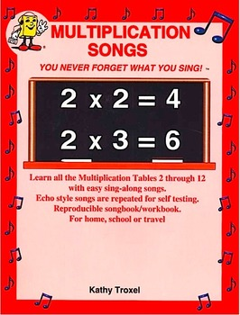 """3 x 2 to 3 x 12 mp4 Video from """"Multiplication Songs"""" by K"""
