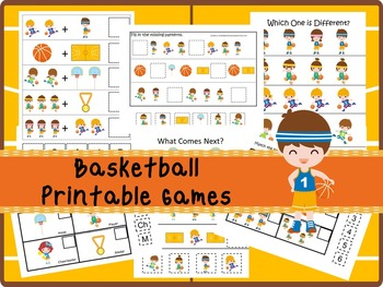 30 Basketball Games Download. Games and Activities in PDF files.