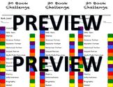 30 Book Challenge Bookmark