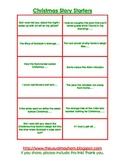 30 Christmas Story Starters