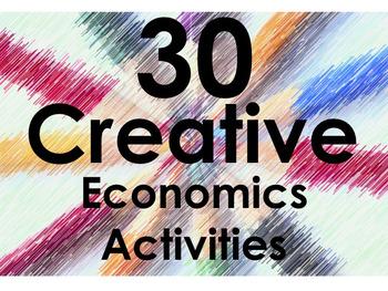 30 Creative Economics Assignments