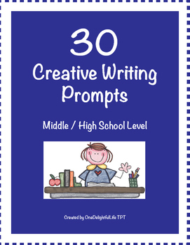 30 Creative Writing Prompts