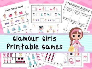30 Glamour Girls Games Download. Games and Activities in P