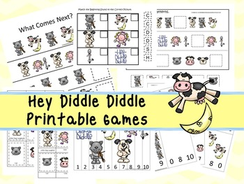 30 Hey Diddle Diddle Games Download. Games and Activities
