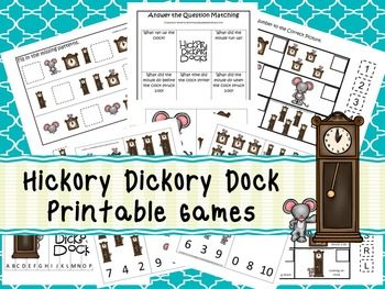 30 Hickory Dickory Dock Games Download. Games and Activiti