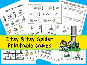 30 Itsy Bitsy Spider Games Download. Games and Activities