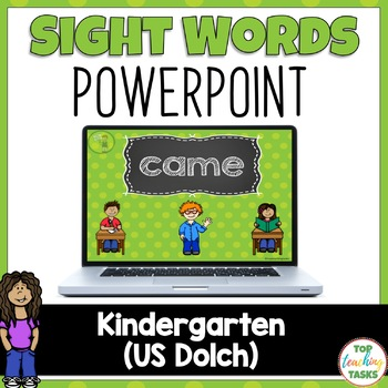 Kindergarten Sight Word (Dolch) Powerpoint Presentation -