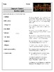 30 Literary Terms Review Quiz
