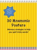 30 Mnemonic Posters to Help Spell Tricky Words!