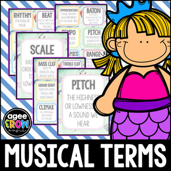 30 Music Flashcards + 30 Wall Cards - Nature - Tempo, Harm