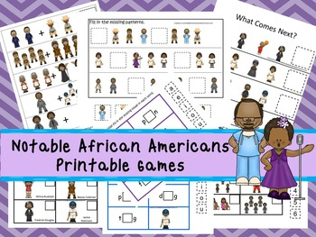30 Notable African Americans Games Download. Games and Act
