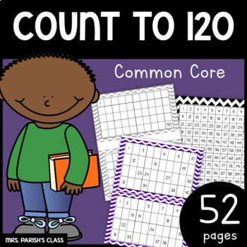 46 Pages! COMMON CORE: COUNT TO 120