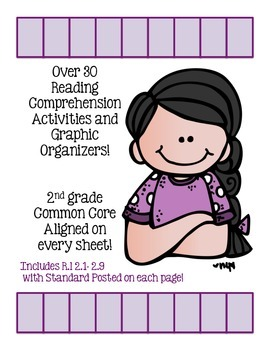 Reading Comprehension Worksheets and Graphic Organziers! O