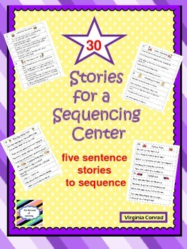Story Sequencing Task Cards