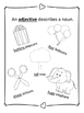 Anchor Charts for Language/Reading Concepts--Black and Whi
