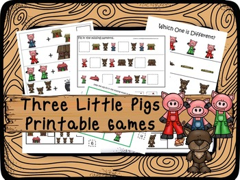 30 Three Little Pigs Games Download. Games and Activities