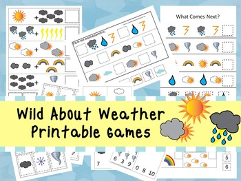 30 Wild About Weather Games Download. Games and Activities