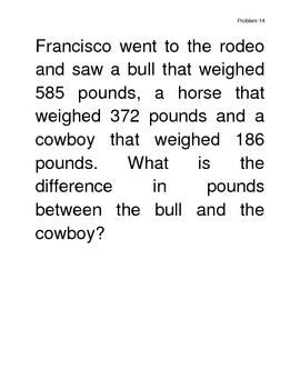 30 Word Problems / Problem of the day