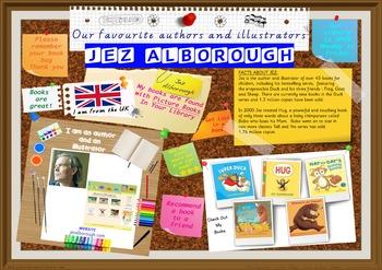 Poster -  Jez Alborough UK Author/Illustrator Of Picture B