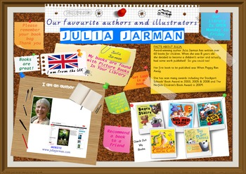 Poster - Julia Jarman Author Of Picture Books Print Your Own