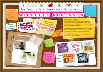 300 DPI Poster - Michelle Robinson Author Of Picture Books
