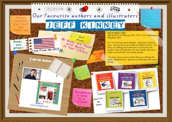 300 DPI Poster - Jeff Kinney Author Of Diary Of Wimpy Kid