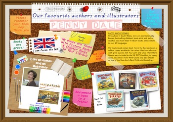 Poster - Penny Dale Author/Illustrator Of Picture & Chapter Bks