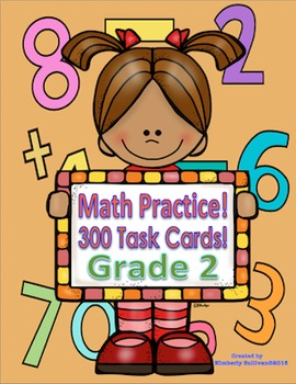 Math Task Cards Grade 2 Common Core! Early Finishers!