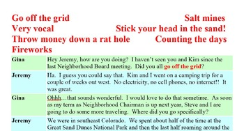 3005 Off the Grid - American Idiomatic Expressions Convers