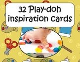 Play-doh inspiration cards
