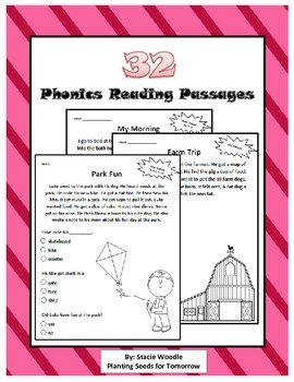 32 Phonics Reading Passages