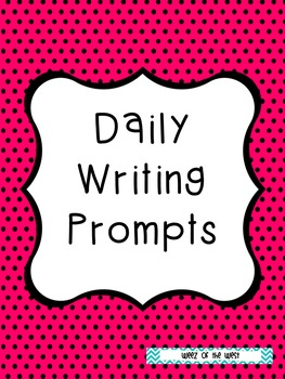 32 Writing Prompts