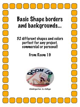 32 different horizontal borders