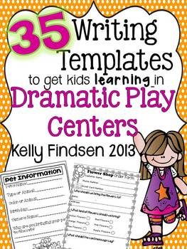 35 Writing Templates to Get Kids Learning in Dramatic Play