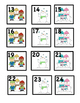 365 Days of Patterned Calendar Cards For Space Saving Cale