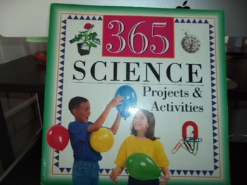 365 SCIENCE PROJECTS ACTIVITIES ISBN 0-7853-1592-6